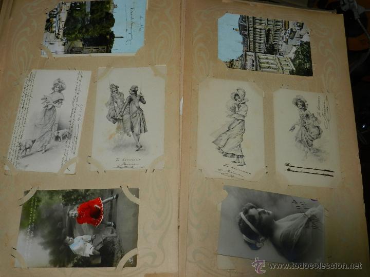 Postales: ALBUM DE TARJETAS POSTALES CON 130 POSTALES. LA GRAN MAYORIA DE NIÑOS CON DISEÑOS MODERNISTAS, PERO - Foto 10 - 46164386