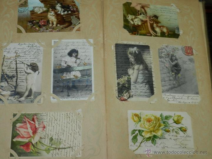 Postales: ALBUM DE TARJETAS POSTALES CON 130 POSTALES. LA GRAN MAYORIA DE NIÑOS CON DISEÑOS MODERNISTAS, PERO - Foto 11 - 46164386