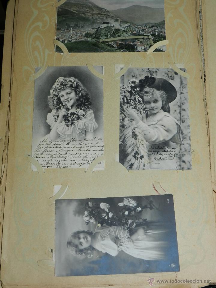 Postales: ALBUM DE TARJETAS POSTALES CON 130 POSTALES. LA GRAN MAYORIA DE NIÑOS CON DISEÑOS MODERNISTAS, PERO - Foto 12 - 46164386
