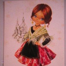 Postales: - MAGNIFICA POSTAL DE LOS AÑOS 70 - CON TRAJE REGIONAL - ZARAGOZA-. Lote 46554502