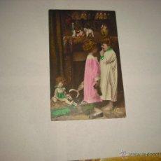 Postales: POSTAL DE NIÑOS CON JUGUETES .LEO PARIS 1929. Lote 47345746