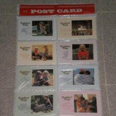 Postales: EXPOSITOR CON 100 POSTALES DE NIÑOS ( 10 POR MODELO ) , A ESTRENAR . RESTOS DE ALMACEN. Lote 47542510