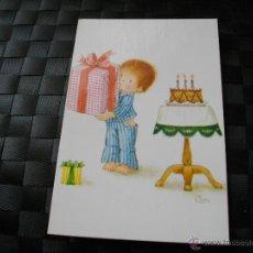 Postales: POSTAL DE NIÑO CUMPLEAÑOS MIRA TODOS MIS ARTICULOS EN EL RINCON DE JJ. Lote 95820126