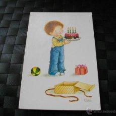 Postales: POSTAL DE NIÑO CUMPLEAÑOS MIRA TODOS MIS ARTICULOS EN EL RINCON DE JJ. Lote 95820156