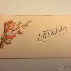Postales: TARJETITA/CUADERNITO DE FELICITACIÓN, EDITORIAL NB, Nº 5 (SIN USO). Lote 48473851