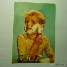 Postales: POSTAL NIÑO AFEITANDOSE --ESCRITA--BB. Lote 48840522