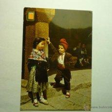Postales: POSTAL CATALUÑA-NIÑOS CON TRAJE REGIONAL .-ESCRITA BB. Lote 49108550