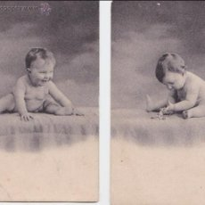 Postales: P- 1994. SERIE DE 2 POSTALES FOTOGRAFICAS DE NIÑOS.. Lote 50184764