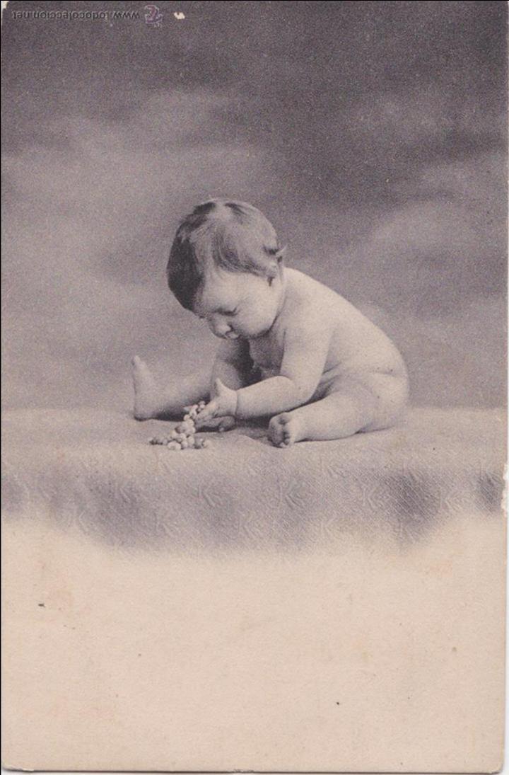 Postales: P- 1994. SERIE DE 2 POSTALES FOTOGRAFICAS DE NIÑOS. - Foto 2 - 50184764