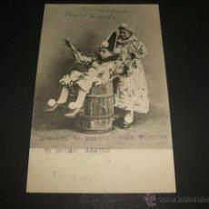 Postales: POSTAL DOS PIERROTS 1903. Lote 50319568