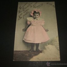 Postales: NIÑA POSTAL 1903. Lote 50337127