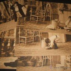 Postales: LA TOILETTE DE LUISIN COLECCION 10 POSTALES E. GONZALEZ REVERSO SIN DIVIDIR HAUSER Y MENET MADRID. Lote 50338157