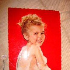 Cartes Postales: ANTIGUA POSTAL CON NIÑOS, AÑOS 40/50. . Lote 16098113