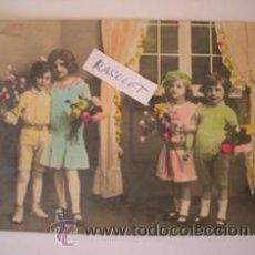Postales: MAGNIFICA POSTAL ANTIGUA DE - NIÑOS - EN COLOR DE LOS AÑOS - 30 - . Lote 51390714