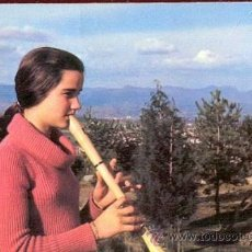 Postales: POSTAL NIÑA TOCANDO LA FLAUTA. Lote 19011977