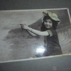 Postales: POSTAL NIÑA - A,N. PARIS 563 POSTAL CIRCULADA 1907 - 14X9 CM. . Lote 52541189