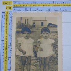 Cartes Postales: FOTO POSTAL. AÑOS 40 50. NIÑOS NIÑAS EN MELILLA ? MÁLAGA?. 803. Lote 53441091