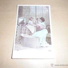 Postales: ANTIGUA POSTAL NIÑOS CIRCULADA 1908 - 14X9 CM. SAZERAC PHOT. . Lote 53514967