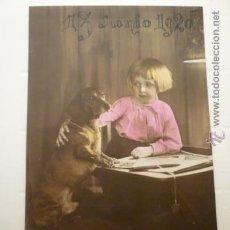 Postales: FOTO POSTAL NIÑA. ED. HB 08193/4. ESCRITA 1920.. Lote 54163739
