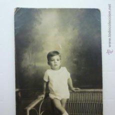 Postales: FOTO POSTAL NIÑO. ESCRITA 1924.. Lote 54727687