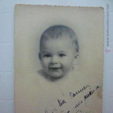 Postales: POSTAS FOTO DUARTE. BEBE 7 MESES. ESCRITA 1936.. Lote 54744813