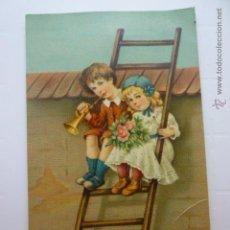 Postales: PRECIOSA POSTAL ILUSTRADA PRINCIPIOS S.XX. ESCRITA 1910. ED. H&S.. Lote 54745697