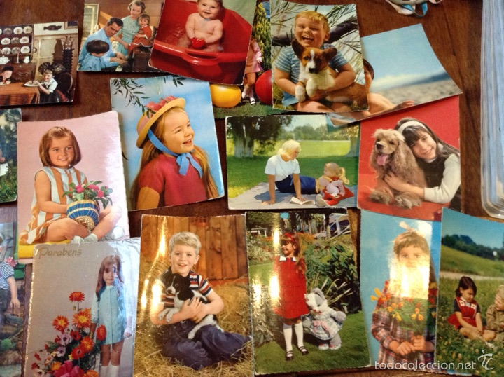 Postales: Postales niños - Foto 2 - 56301831
