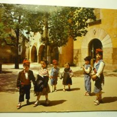 Postales: POSTAL CATALUNYA TIPICA-NIÑOS --CIRCULADA CM. Lote 56305749