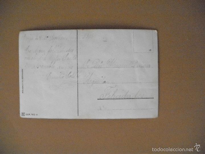 Postales: POSTAL, CONFILETADOS DORADOS, NIÑO JUGADO. 1909 - Foto 2 - 57051929