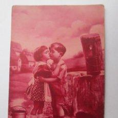 Postales: NIÑOS ENAMORADOS. ENFANTS LOVERS. CHILDREN LOVERS.. Lote 57551132