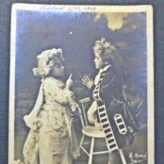 Postales: POSTAL DEL AÑO 1908, CIRCULADA DIRIGIDA DE BARCELONA A MATARO. VER COMENTARIOS. Lote 58579260
