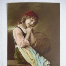 Postales: POSTAL INFANTIL COLOREADA. ED. RPH 4314/4. ESCRITA 1914.. Lote 58583303