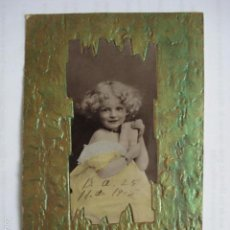 Postales: POSTAL INFANTIL TROQUELADA. ESCRITA 1905.. Lote 58587239