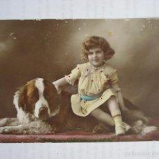 Postales: POSTAL INFANTIL COLOREADA. ED. PFB 3278/4. ESCRITA 1916.. Lote 58587403