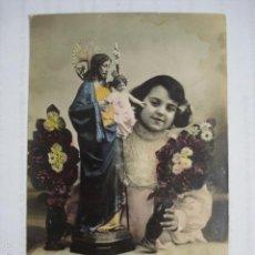 Postales: POSTAL INFANTIL COLOREADA ED. TR (MAGDA) 133. ESCRITA 1909.. Lote 58588987