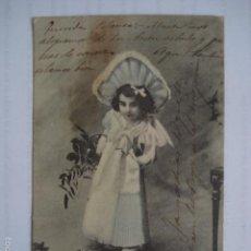 Postales: ANTIGUA POSTAL INFANTIL. SIN DIVIDIR. ESCRITA PRINCIPIOS S. XX.. Lote 58589404