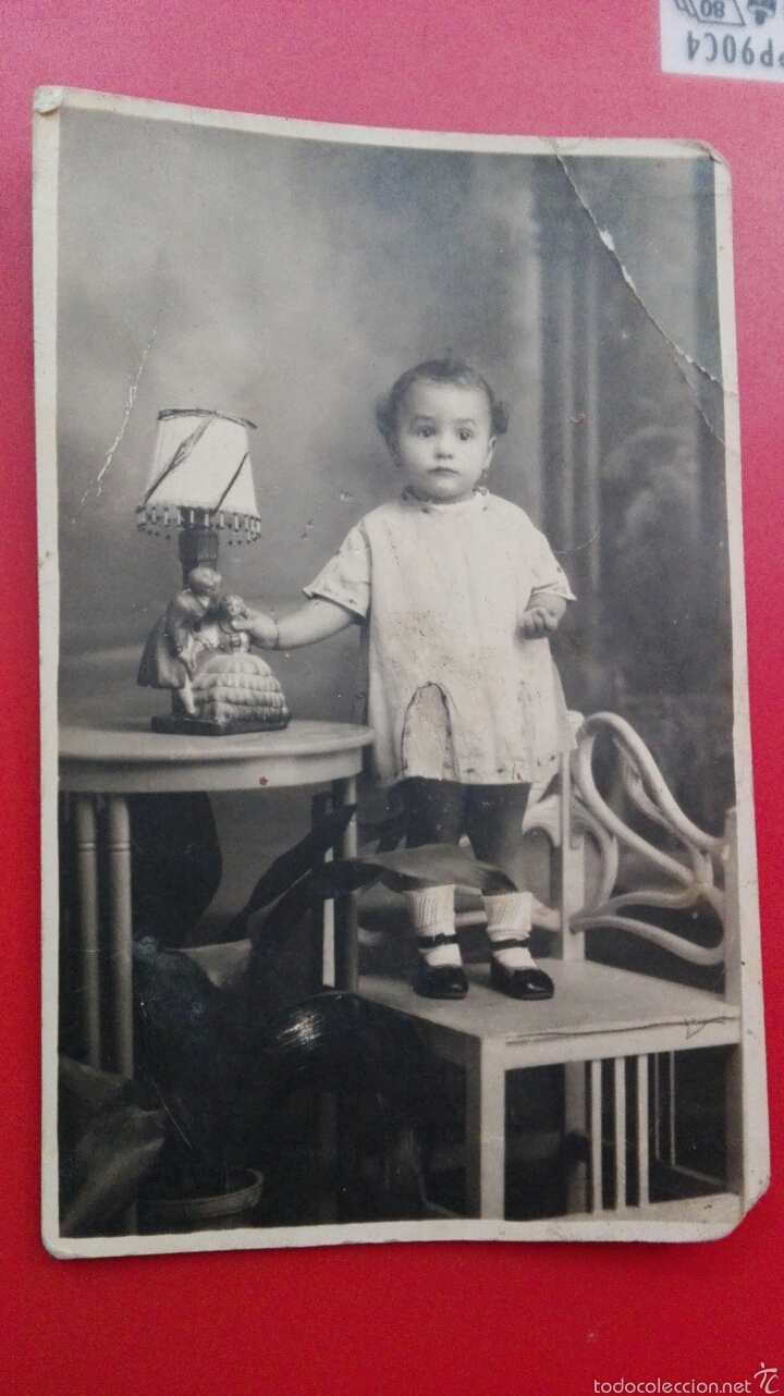 FOTO POSTAL 1927 (Postales - Postales Temáticas - Niños)