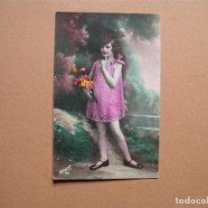 Postales: NIÑO,ANTIGUA POSTAL COLOREADA ,, AÑOS 1935. Lote 62485880