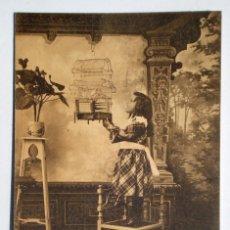 Postales: 10 POSTALES COLECCIÓN COMPLETA SERIE B - E. GONZALEZ - EL JILGUERO DE LULU - SIN CIRCULAR 1900. Lote 67182221