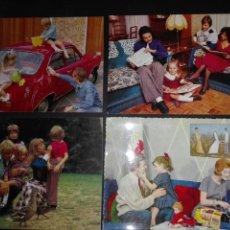 Postales: NOSTALGIA FAMILIA AÑOS 60. Lote 72086774