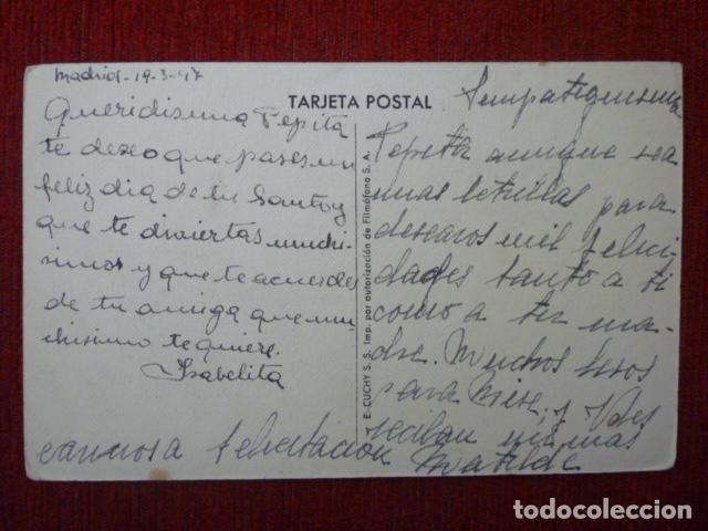 Postales: POSTAL EDICIONES CUCHY S. S.. ESCRITA 1947. - Foto 2 - 76789619