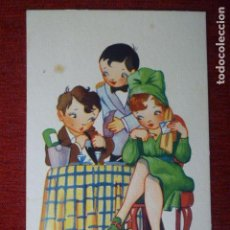 Postales: POSTAL EDICIONES TRIO. SERIE 38. ESCRITA 1946.. Lote 76792903