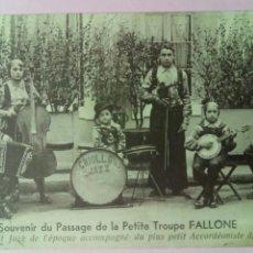 Postales: POSTAL FRANCIA PETITE TROUPE FALLONE NIÑOS. Lote 79919474