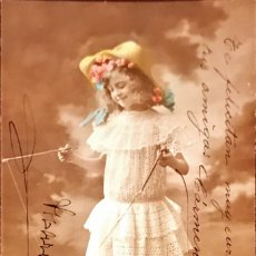 Postales: LOTE DE 4 POSTALES INFANTILES CIRCULADAS ALREDEDOR 1915. Lote 80874799