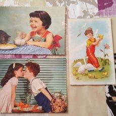 Postales: LOTE DE 3 ANTIGUAS POSTALES ESCRITAS.AÑOS 50-60. Lote 85049052