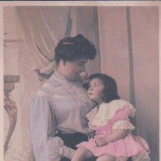 Postales - POSTAL RETRATO FAMILIAR - MADRE CON SU HIJA - LA GRAN'D MERE - 92731600