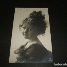 Postales: NIÑA POSTAL 1910. Lote 93858295