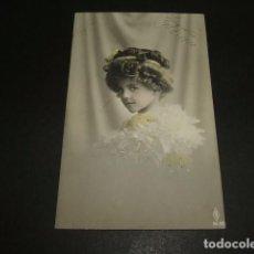 Postales: NIÑA POSTAL 1910. Lote 93940980