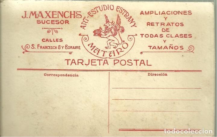 Postales: C1.- NIÑO CON CABALLO DE JUGUETE-J.MAXENCHS SUCESOR-ART ESTUDIO ESTRANY DE MATARO - Foto 2 - 94212750