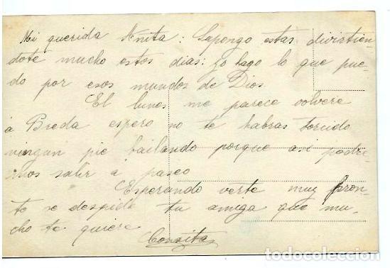 Postales: ANTIGUA FOTO-POSTAL DE - TRES NIÑAS DE ANGELITOS HACIENDO MUSICA - ESCRITA AOS 20 - Foto 2 - 94541767